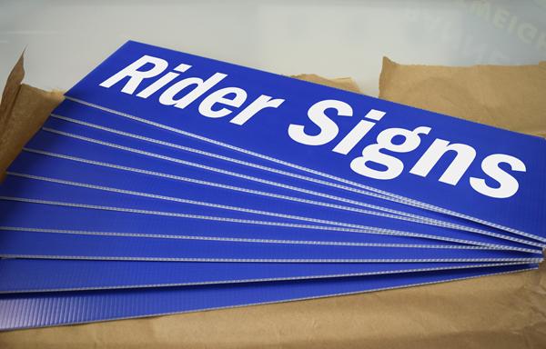 RiderSigns